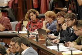 La actual desbandada de Podemos en el Parlament llega al Consell y Cort