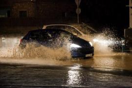 Las precipitaciones en Sant Antoni alcanzan hoy los 8 litros por metro cuadrado y 5 litros en Ibiza
