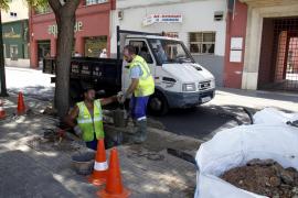 Una avería deja sin agua a más de mil vecinos de Cala Major