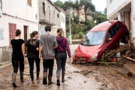 El Govern establece ocho líneas de ayudas para afectados de las inundaciones del Llevant de Mallorca