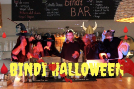 Bindi celebra un Halloween Street Food