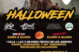 Es Gremi celebra con mucha música una fiesta de Halloween