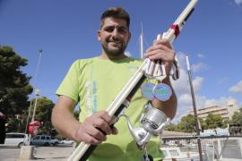 Josep Barceló, el pescador de medallas