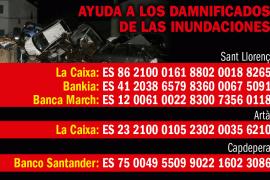 Las necesidades de los municipios afectados por las inundaciones en Mallorca