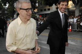 Javier Bardem sigue apoyando a Woody Allen: «Volvería a trabajar con él mañana»