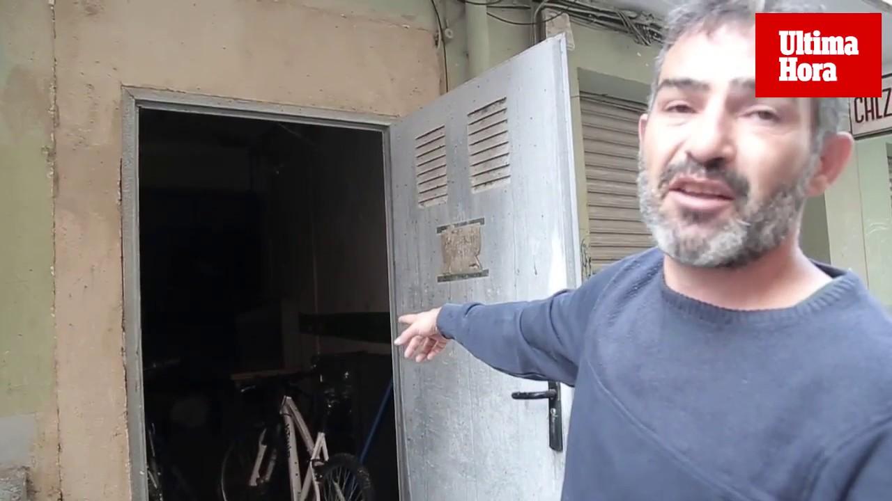 Vecinos de Son Gotleu denuncian el peligro de derrumbe de un edificio