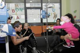 Más luz para los niños con cáncer ingresados en Son Espases