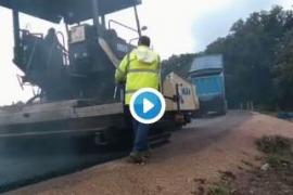 Se reabren las primeras carreteras afectadas por la riada en Mallorca