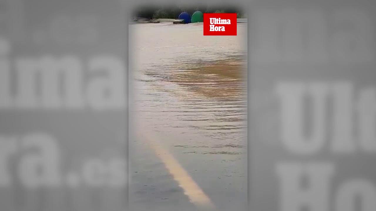 Impresionantes imágenes de las inundaciones de este viernes en sa Pobla
