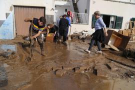 El Govern destinará 2,6 millones de euros a los autónomos y las empresas afectados por las inundaciones en el Llevant