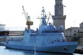 El buque más moderno de la Armada  española visita Palma por vez primera