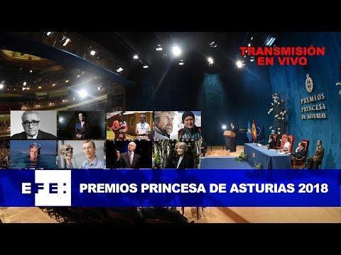 EN DIRECTO | Ceremonia de entrega de los Premios Princesa de Asturias 2018