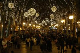 Los ciudadanos de Palma elegirán qué entidad social enciende las luces de Navidad