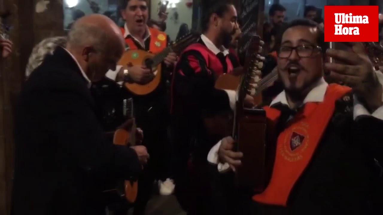 La Tuna Felipe Moreno sale de ronda por Palma