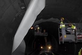 La concesionaria del túnel no prevé cerrar menos horas para no prolongar las obras
