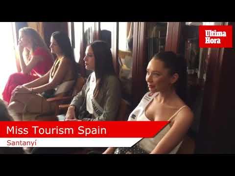 Las aspirantes a Miss Tourism Spain visitan Santanyí