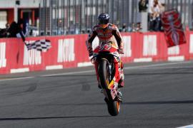 Marc Márquez se proclama campeón del mundo de MotoGP
