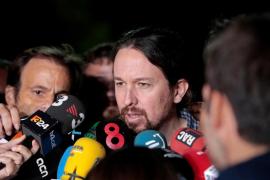 Iglesias conversa por teléfono con Puigdemont tras su encuentro con Junqueras