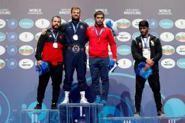 Taimuraz Friev logra un histórico bronce para la lucha española en el Mundial