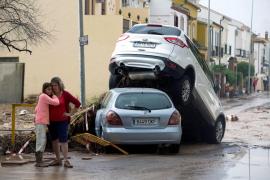 Los vídeos de las espectaculares inundaciones en la provincia de Málaga