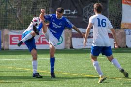 El partido entre el San Rafael y el Binissalem, en imágenes (Fotos: Marcelo Sastre).