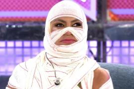 Leticia Sabater aparece en televisión vestida de momia