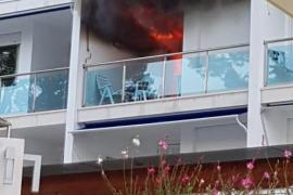 Evacúan el hotel Eurotel Punta Rotja tras declararse un incendio