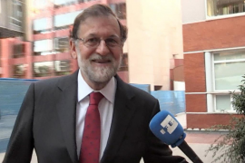 Rajoy se incorpora a su plaza en el Registro Mercantil de Madrid