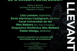 Concierto solidario 'Música pel Llevant' en la Catedral de Mallorca