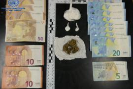 Dos detenidos en Manacor al delatarles el fuerte olor a marihuana en el coche
