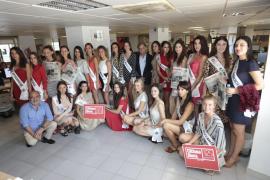 Las candidatas a Miss Tourism Spain 2018 recorren Mallorca