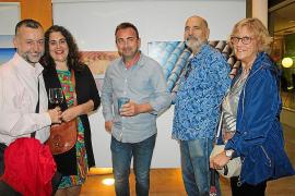 Carlos Espiro expone su obra en el Colegio de Abogados