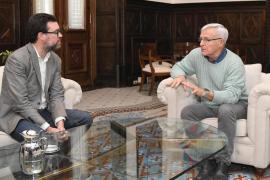 Antoni Noguera se reúne con el alcalde de Valencia para intercambiar ideas y analizar problemáticas comunes