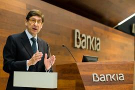 El presidente de Bankia incide en Palma en la necesidad de dar «seguridad jurídica» sobre el pago del impuesto de hipotecas