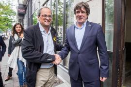 Puigdemont y Torra activarán el Consell de la República el 30 de octubre sin la CUP