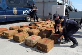 Diez detenidos y 1.400 kilos de coca incautada en Canarias en el tercer golpe a las mafias turcas