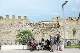 Luz verde a la «demolición parcial y preventiva» de la muralla dañada de Alcúdia