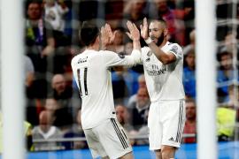 Benzema y Marcelo devuelven al Real Madrid a la senda de victoria