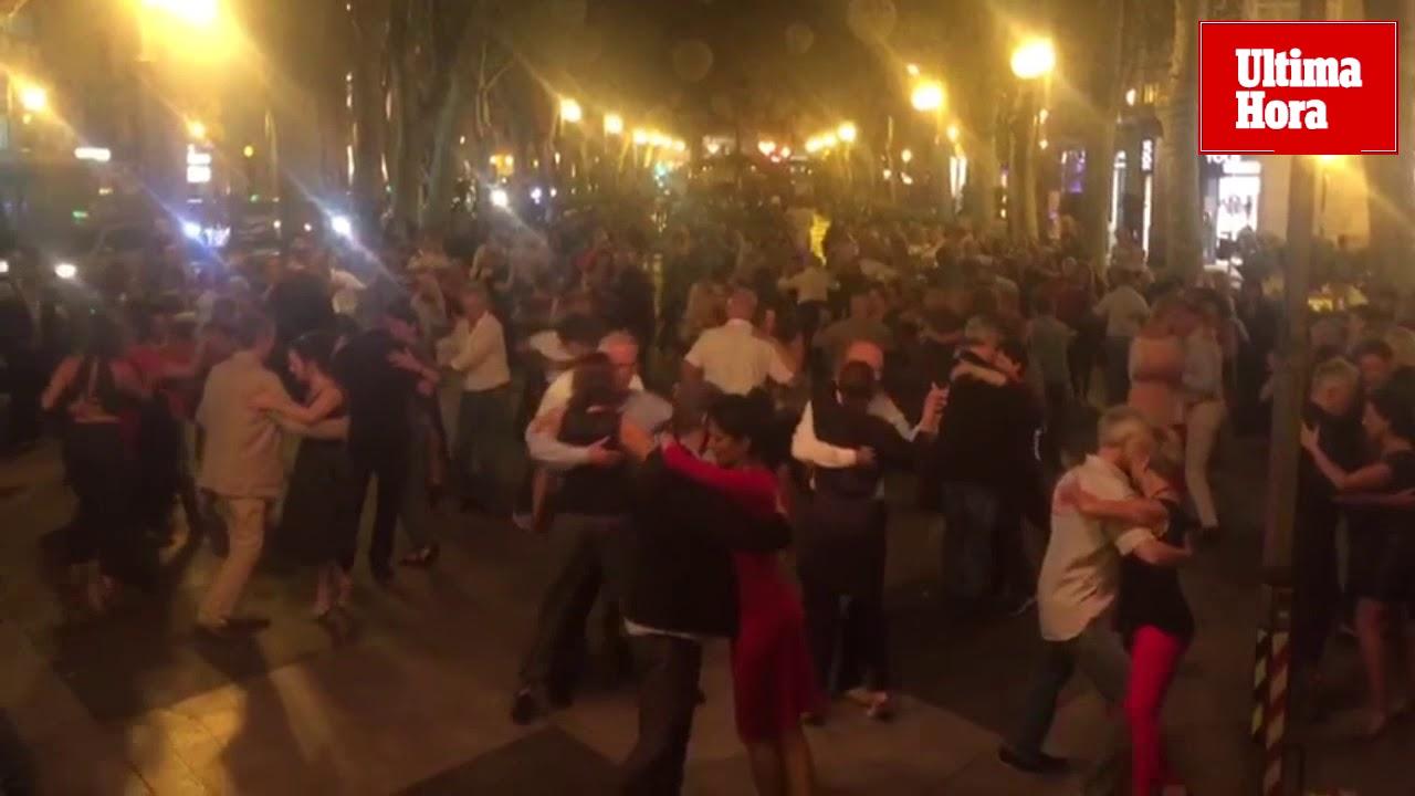 Unas 600 parejas participan en el XI Mallorca Tango Festival en el Born