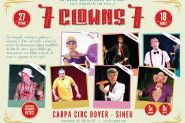 El espectáculo '7 clows 7' se instala en Sineu