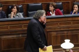 Joan Tardà: «Si el señor Casado pudiera, nos fusilaría»
