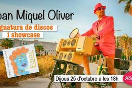 Firma de discos y 'showcase' de Joan Miquel Oliver en el Espai Xocolat