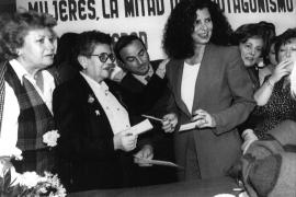 Carmen Alborch, apasionada por el feminismo y la cultura