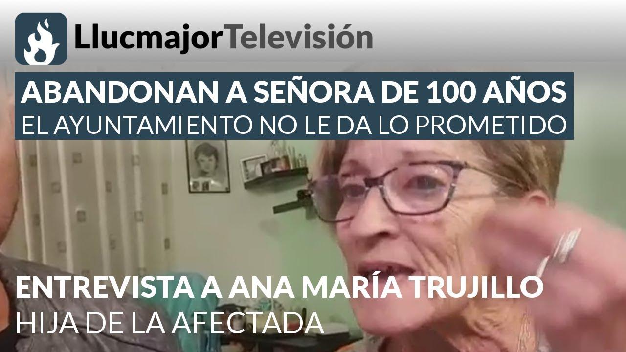 El Ayuntamiento de Llucmajor «abandona» a una mujer de 100 años