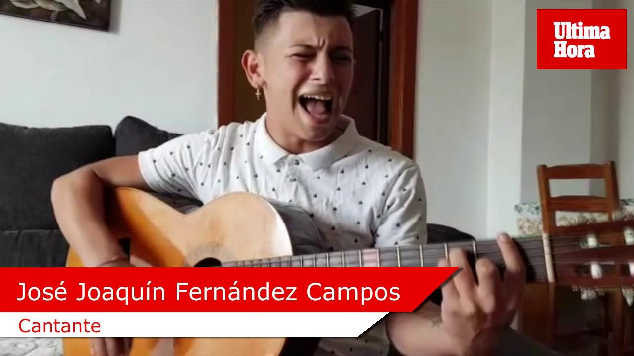 J. Fernández: «Canto porque quiero sacar a mi familia de la pobreza»