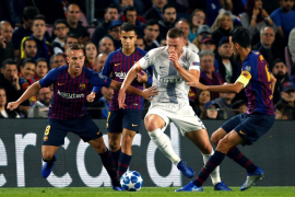 El Barcelona gana al Inter de Milán y se sitúa como líder del Grupo B en la Liga de Campeones