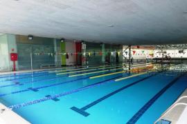Una «deposición en el agua» provoca el cierre de la piscina del polideportivo Rudy Fernández