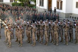 La Infantería celebra su patrona con la vista puesta en Afganistán