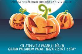 Grand Palladium Palace Ibiza Resort & Spa adelanta Halloween a este sábado con una gran fiesta familiar