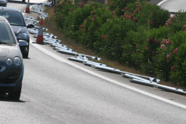 El tramo de la autopista entre Inca y Santa Maria estará en obras a partir de este domingo